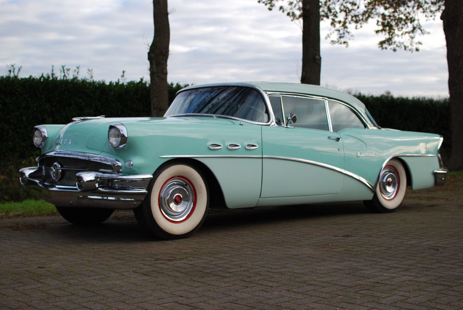 Buick Special chroom