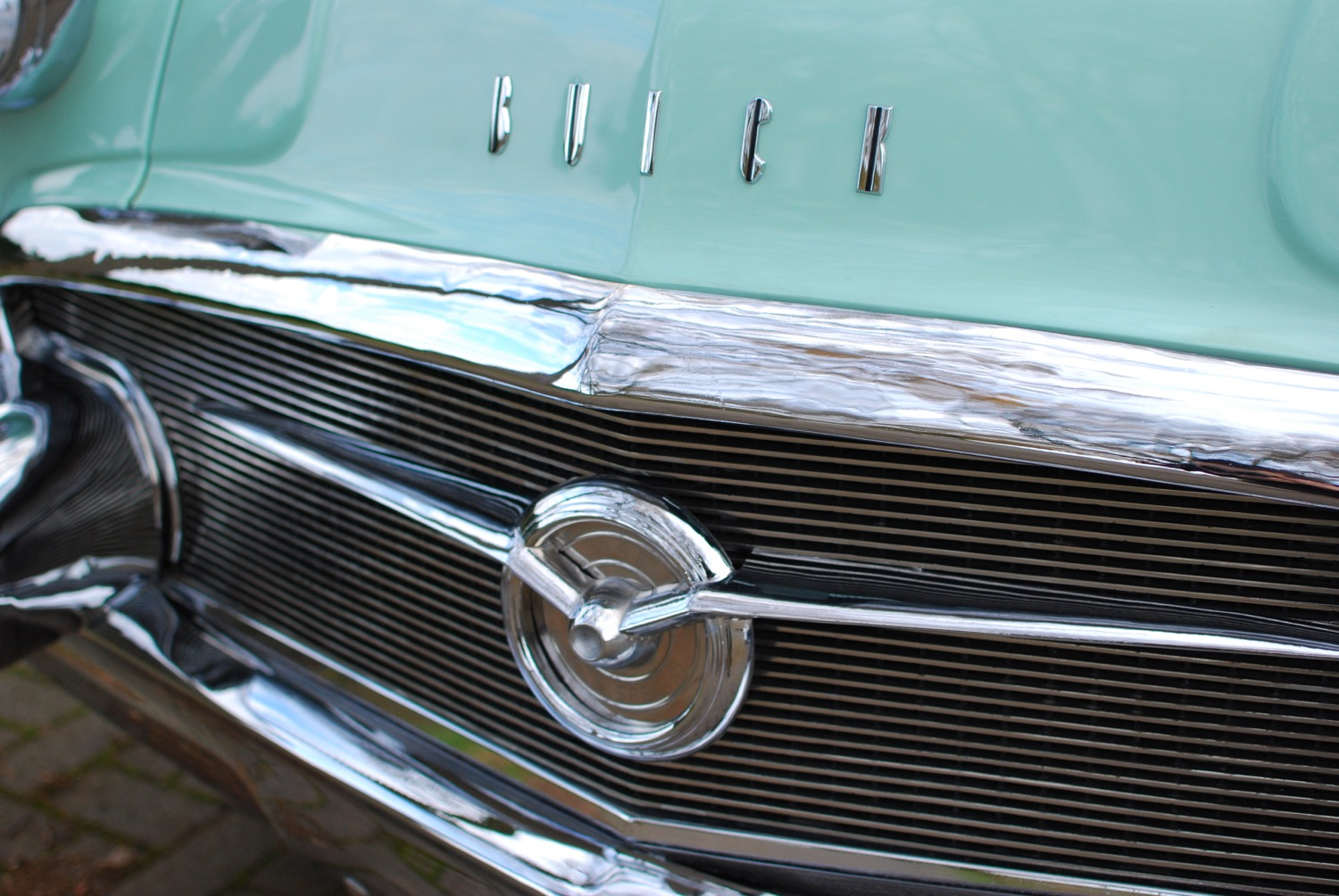 Buick Special grill