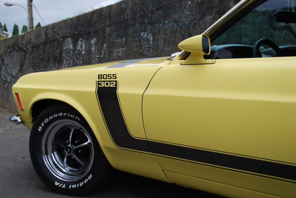 Ford Mustang 302 BOSS 1970