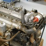 XKE engine before revision.