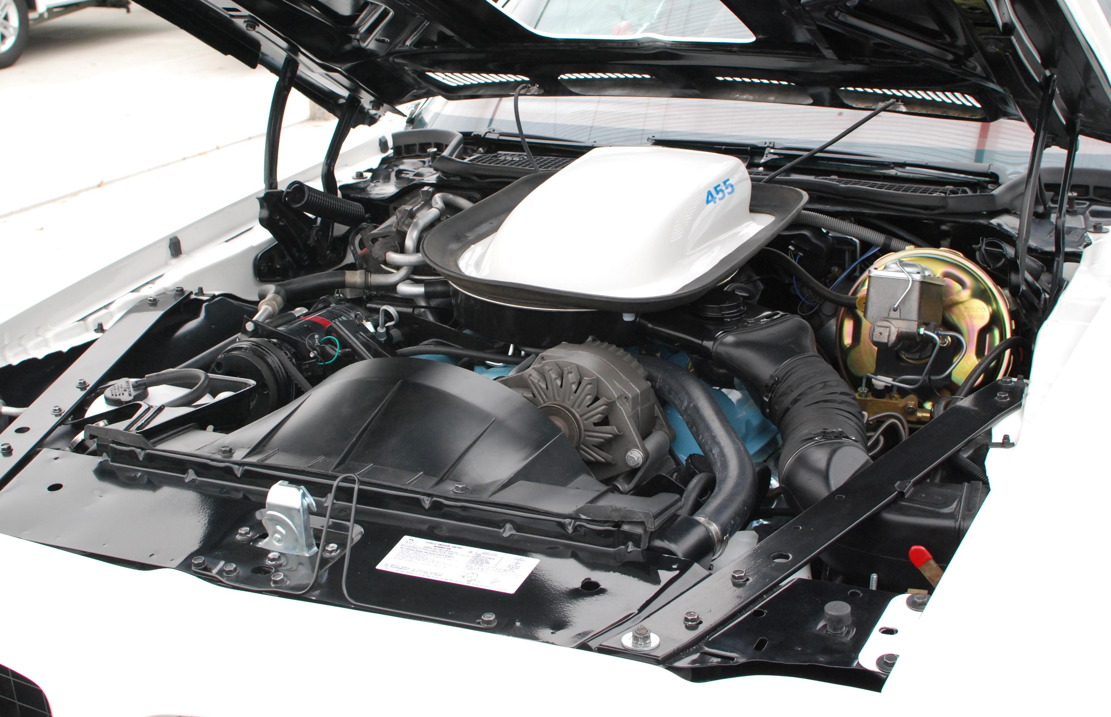 Pontiac Firebird 1973 restoration